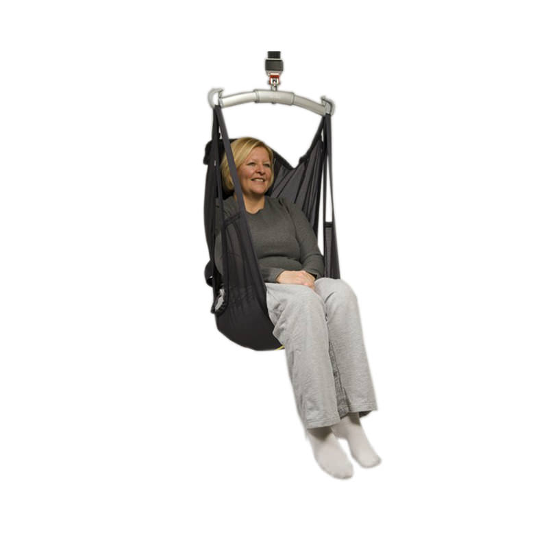 Liko ComfortSling Plus high back net polyester sling with padded seat