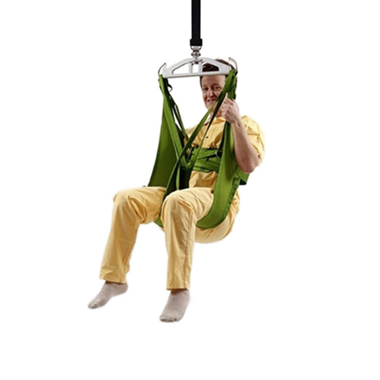 Liko HygieneSling Model 45 - polyester sling with safety belt and leg supports