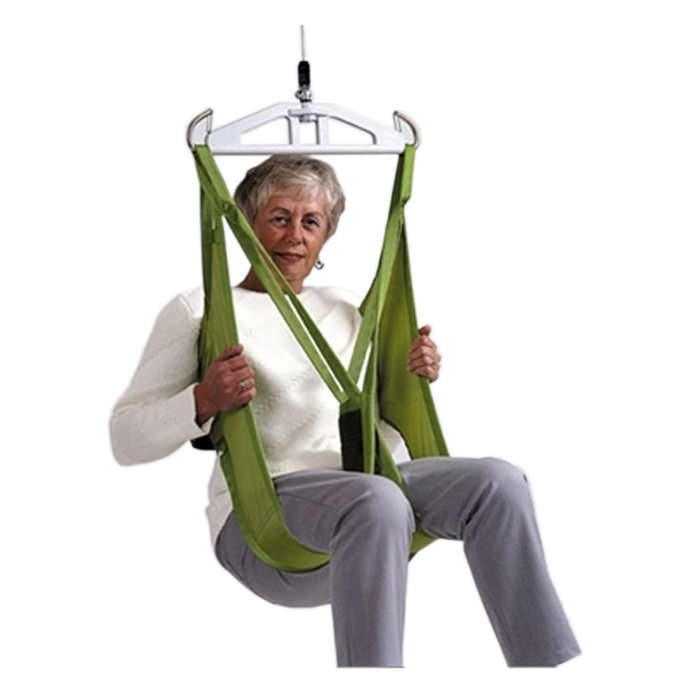 Liko HygieneSling polyester sling with safety belt and leg supports