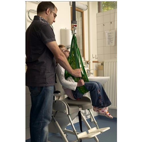 Liko teddy hygiene reinforced leg support sling for patient lift