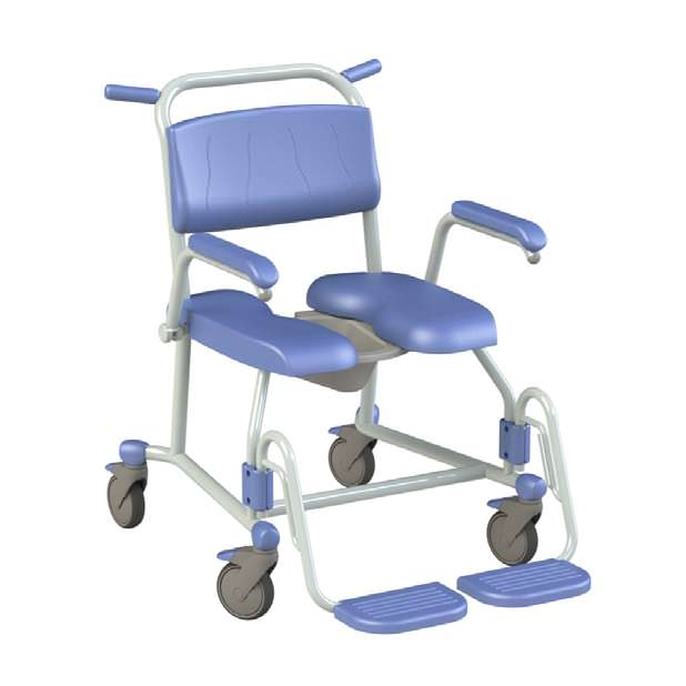 Lopital Tango XL rehab shower commode chair