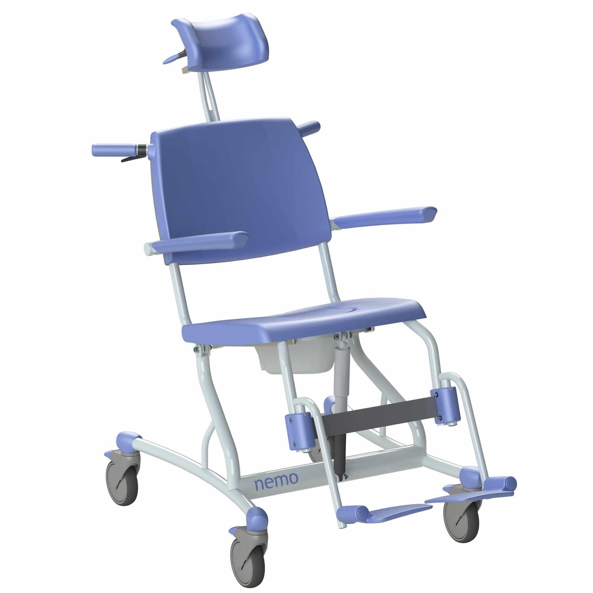 Lopital Nemo Mobile Tilt Shower Chair