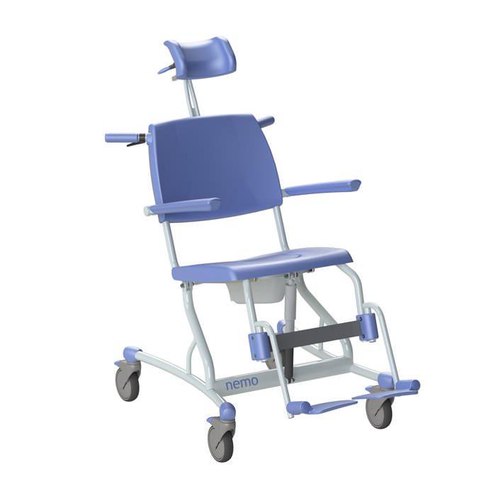 Lopital Nemo Mobile Tilt Shower-Toilet Chair
