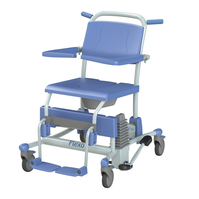 Lopital Flexo Rehab Shower Commode Chair