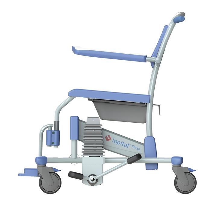 Lopital Flexo Shower Commode Chair