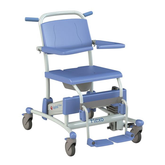 Lopital Flexo Mobile Shower-Toilet Chair