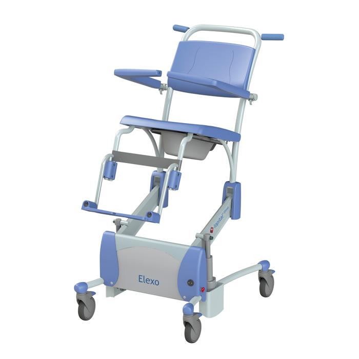 Lopital Elexo Tilt Shower Commode Chair