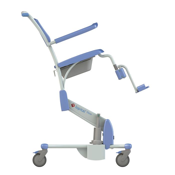 Lopital Elexo Shower Commode Chair