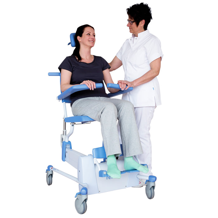Lopital Reflex Shower-Toilet Chair