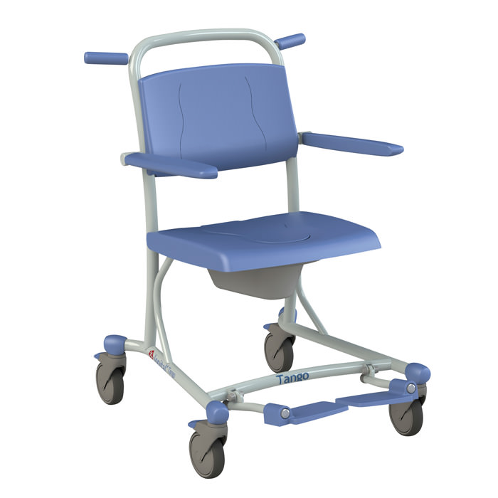 Lopital Tango Rehab Shower Commode Chair
