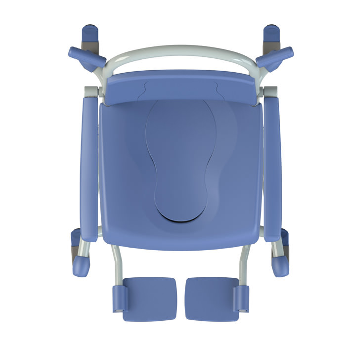 Tango Shower Commode Chair by Lopital