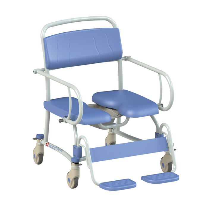 Lopital Tango XXL Bariatric Rehab Shower Commode Chair