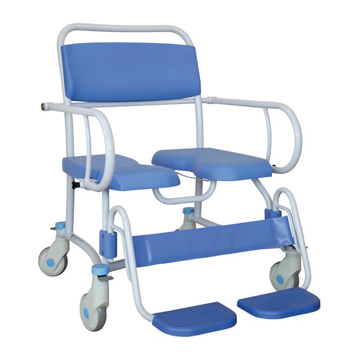 Lopital Tango XXL Rehab Shower Commode Chair