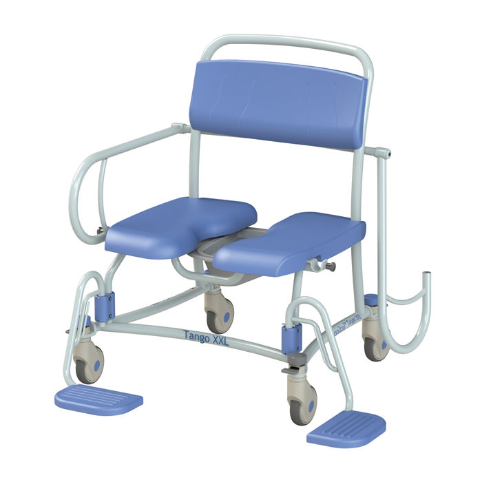 Tango XXL Rehab Shower Commode Chair by Lopital