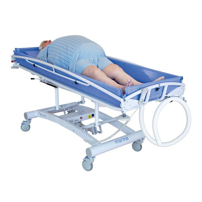 Lopital Marina Shower Trolley - Electric