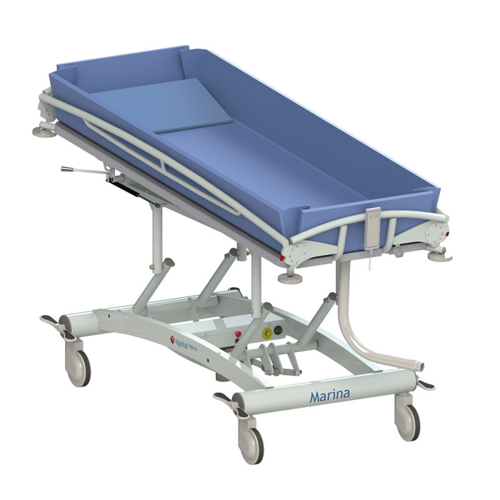 Lopital Marina Hydraulic Shower Trolley