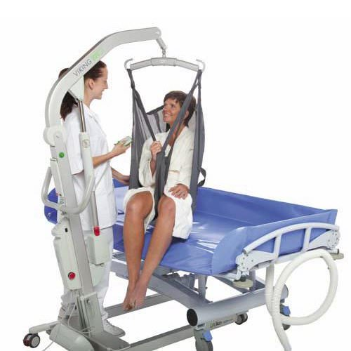 Lopital Marina Shower Trolley (Hydraulic)