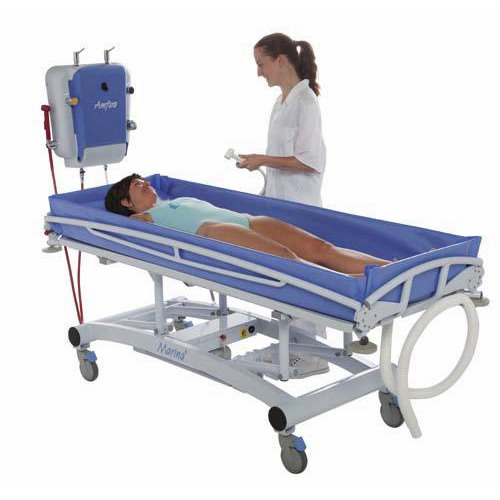 Lopital Marina Hydraulic Shower Gurney