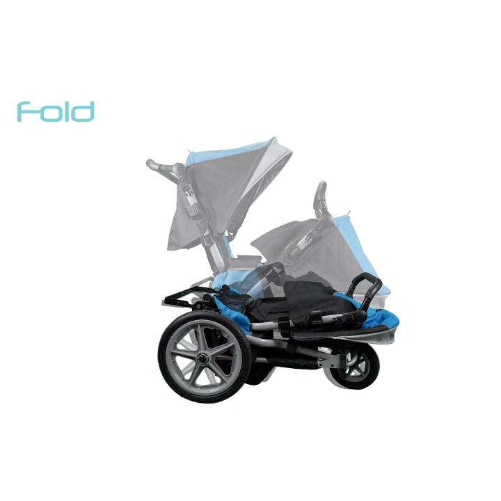 Leggero Dyno tilt compact folding stroller