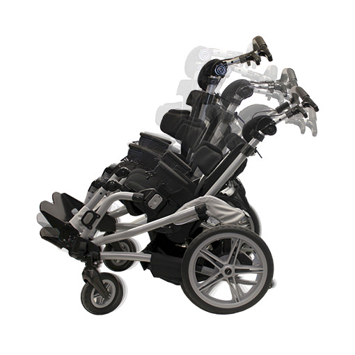 Leggero Trak tilt adjustable stroller