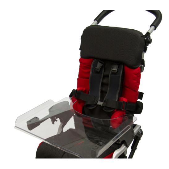 Leggero Reach folding stroller with optional tray