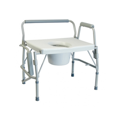Lumex Imperial Collection 3-in-1 Steel Drop Arm Commode