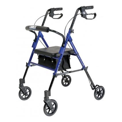 Lumex Set n' Go Height Adjustable Rollator