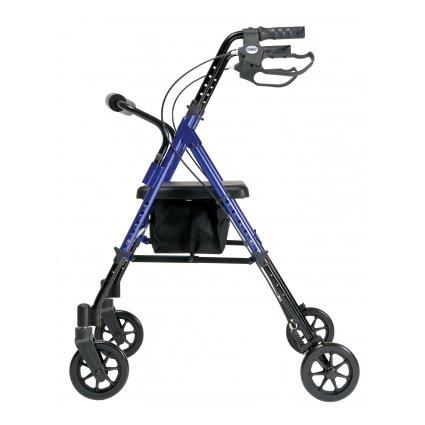 Lumex Set N Go Adjustable Height Rollator