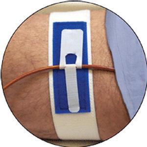 "Marpac Inc Standard Foley Catheter Leg Band 2"" W, Latex-free, Fits upto 26"" Leg"