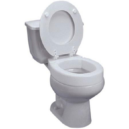 Tall-ette Hinged Elevated Toilet Seat, 3 Inch