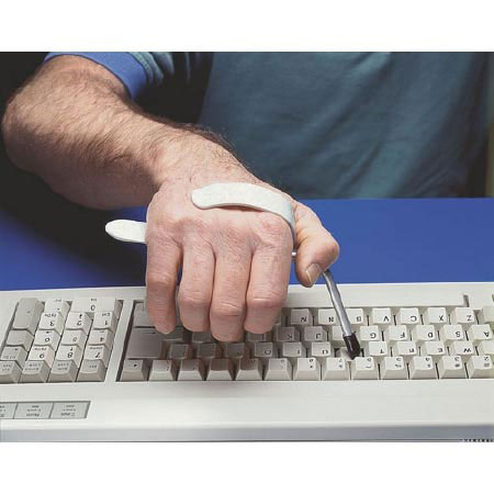 Maddak Slip-On Typing Aid 7-1/2 Inch Length