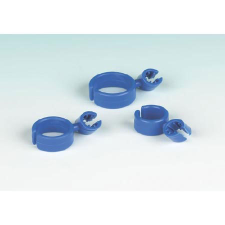 Ring Writer Clip Polyethylene Writing Aid Blue 3 Clips
