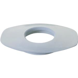 """Marlen All-Flexible Oval Convex Mounting Ring with Green Neoprene Rubber, 3/4"""" Opening"""