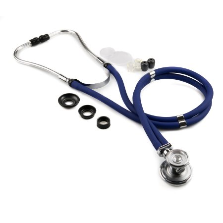 McKesson Double Lumen Sprague Stethoscope, Blue