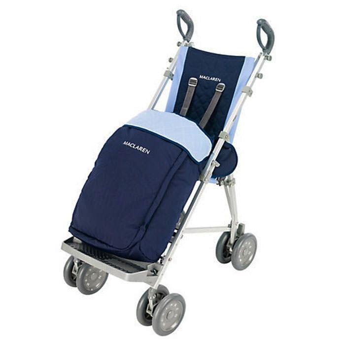 Maclaren Major Elite Push Chair with Stroller Boot