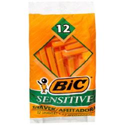 Bic Sensitive Single Blade Razor
