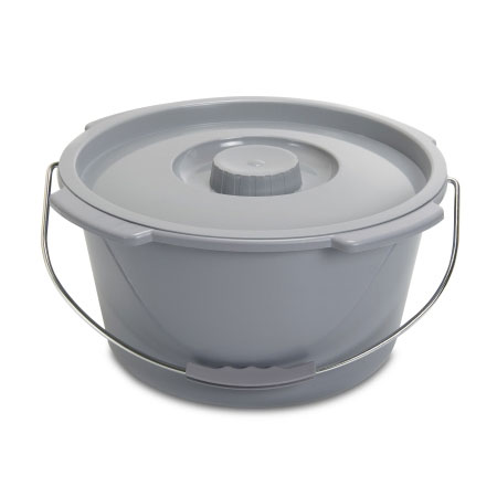 McKesson Metal Handle Commode Bucket