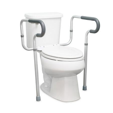 McKesson Aluminum Toilet Mount Safety Rail