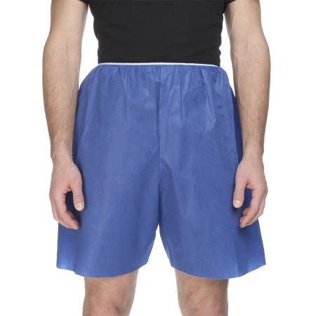McKesson Disposable Elastic Waist Exam Shorts, Large