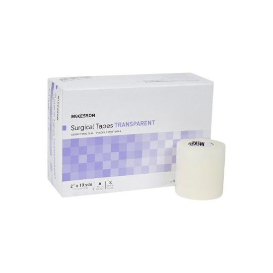 "McKesson Medi-Pak Performance Plus Plastic Surgical Tape, 2"" x 10 yards NonSterile"