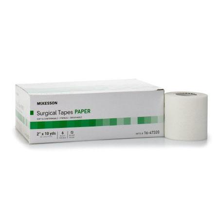 "McKesson Medi-Pak Performance Plus Paper Surgical Tape, 2"" x 10 yards NonSterile"
