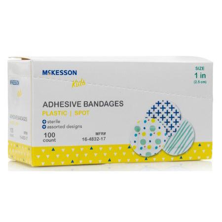 Mckesson Kids Adhesive Spot Bandage