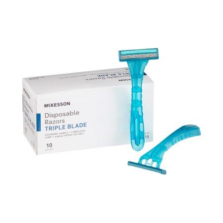 McKesson Triple Blade Razor, Disposable