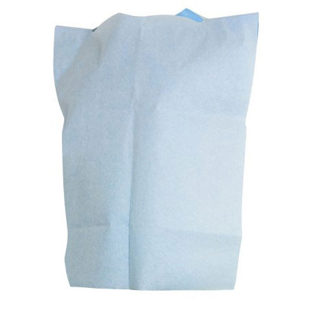McKesson Disposable Slipover Bib 20 x 29 Inch Blue