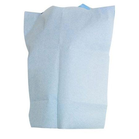 McKesson Disposable Slipover Bib 20 x 29 Inch Blue