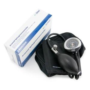 McKesson Reusable Aneroid Sphygmomanometer with Cuff, Large Black Cuff
