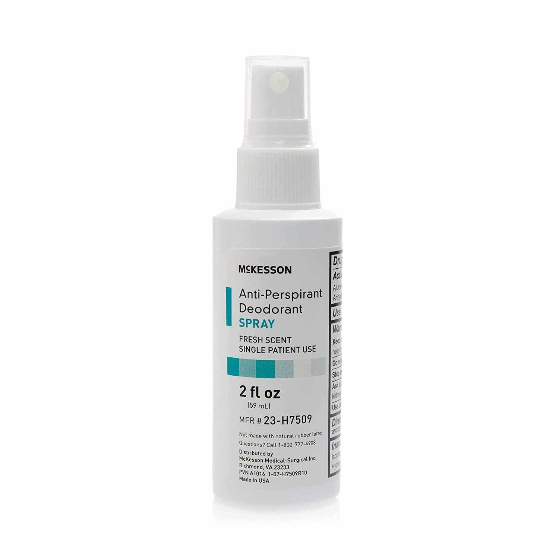McKesson Fresh Scent Antiperspirant / Deodorant Spray 2 oz.