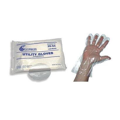 McKesson Polyethylene Clear Utility Glove