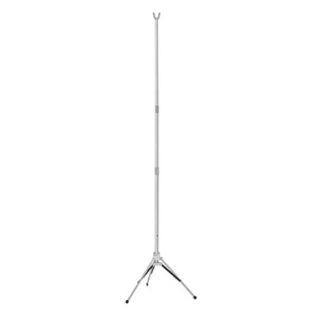 McKesson Disposable IV Stand Floor Stand, 2-Hook 3-Leg