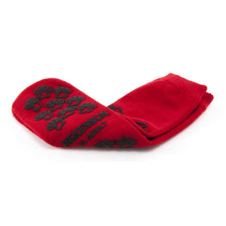 McKesson Skid-Resistant Tread Sole and Top Above Ankle Slipper Socks